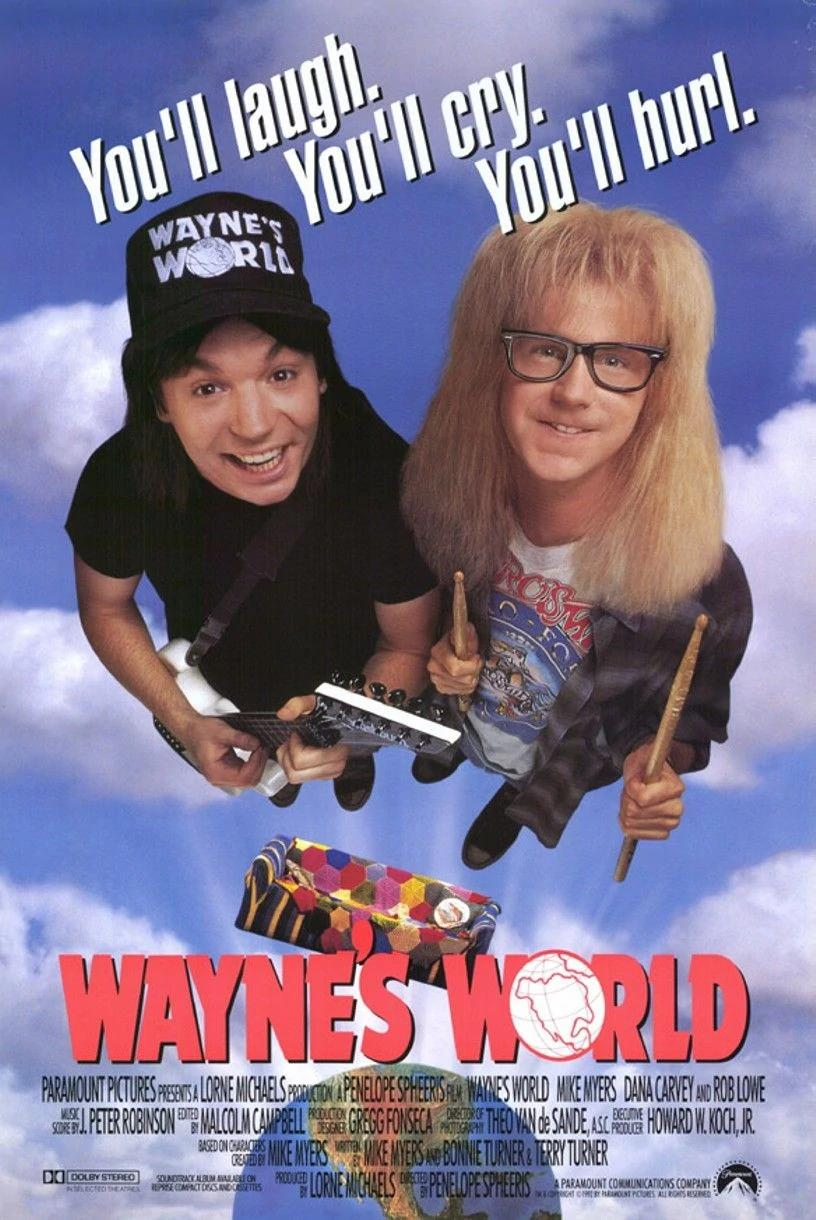 waynes world cover