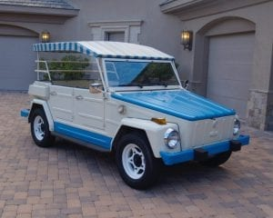 vw thing 1974 alcapulco edition