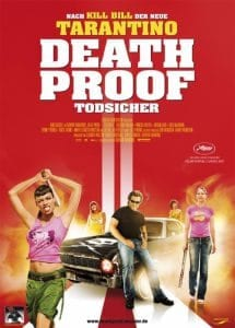 fff death proof movie dvd cover