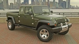 fff tremors 2005 jeep gladiator concept