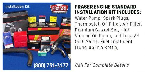 Fraser Installation Kit