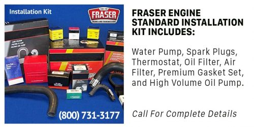 Fraser Installation Kit